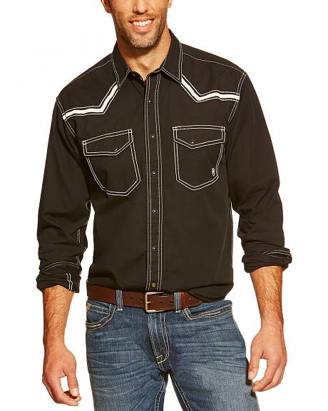 Ariat Men's Retro Clint Long Sleeve Snap Western Shirt