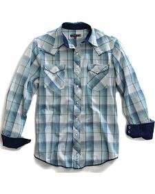 Tin Haul Men's Sonic Plaid Snap Western Shirt