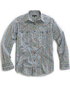 Tin Haul Men's Arrow Aztec Print Snap Western Shirt