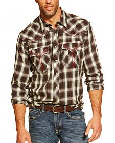 Ariat Pendleton Coburg Plaid Snap Western Shirt