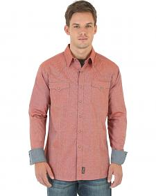 Wrangler Retro Men's Rust Western Shirt