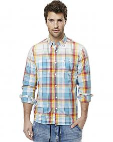 Buffalo Men's Sijax Plaid Long Sleeve Shirt