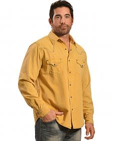 Ryan Michael Men's Silk Cotton Canvas Shirt