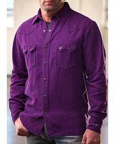 Ryan Michael Men's Birdseye Dobby Shirt