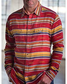 Ryan Michael Men's Brick Serape Western Shirt