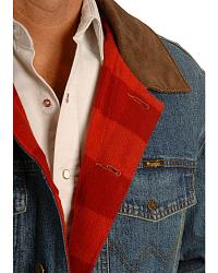 Wrangler Lined Denim Jean Jacket at Sheplers