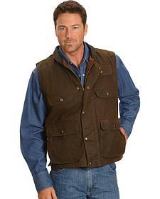 Outback Trading Co. Overlander Flannel Lined Oilskin Vest