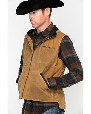 Outback Trading Co. Sawbuck Flannel Lined Oilskin Vest