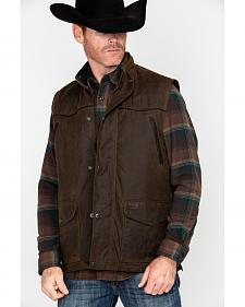 Outback Trading Co. Magnum Fleece Lined Oilskin Vest