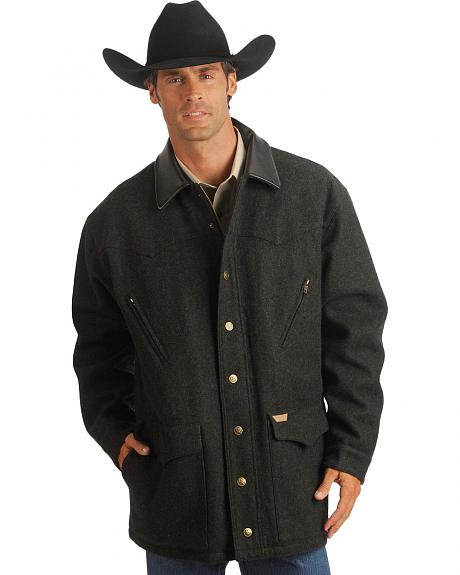 Powder River Outfitters Wool Blend Rancher Jacket