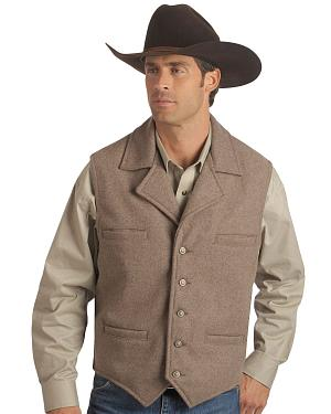 Schaefer Cattle Baron Wool Blend Vest