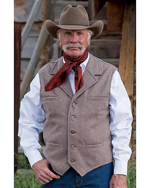 Schaefer McClure 100% Merino Wool Vest