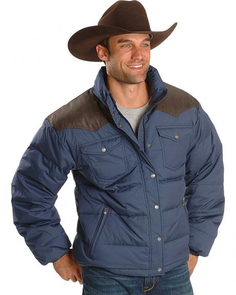 Ariat Blue Polyfill Western Jacket