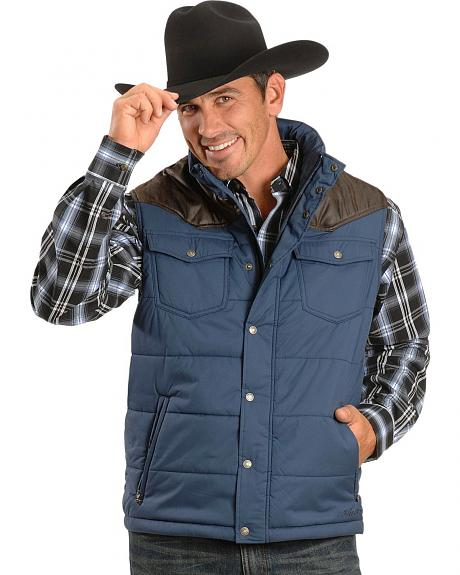 Ariat Insulated Contrast Yoke Vest