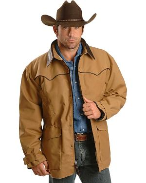 Schaefer Saddle Brown Legacy Drifter Western Coat