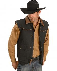 Schaefer Cattleman Canvas Vest