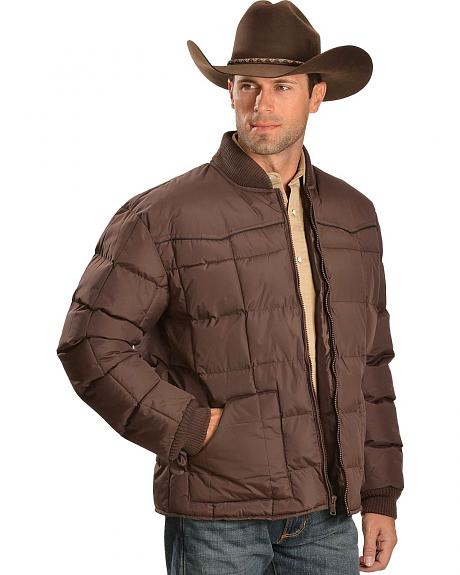 Ely Quilted Nylon Western Jacket