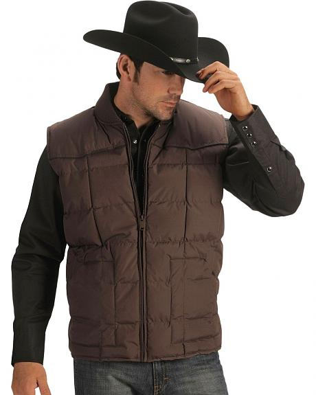 Ely Quilted Nylon Western Vest