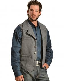 Red Ranch Wool Vest