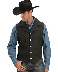 Red Ranch Wool Vest at Sheplers