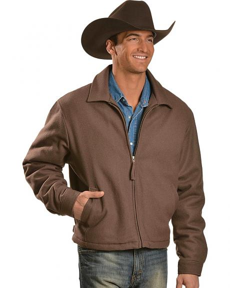 Cripple Creek Contrasting Western Back Yoke Wool Jacket