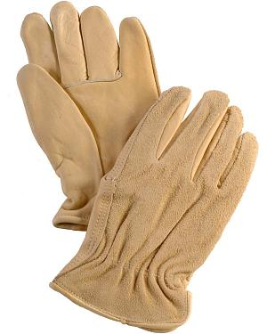 Justin Split Back Cowhide Gloves