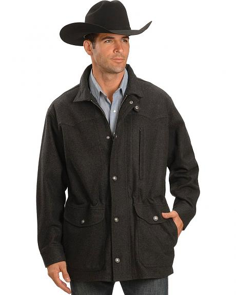 Cripple Creek Relentless Wool Rancher Coat