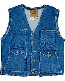 Schaefer Mesquite Denim Vest