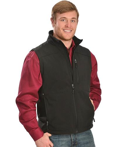 Red Ranch Performance Vest Western & Country CCV-PF BLACK