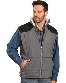 Wrangler Soft Shell Sherpa Collar Vest