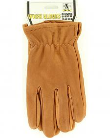 HD Xtreme Tan Suede Deerskin Gloves