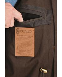 Outback Trading Co. Long Oilskin Duster at Sheplers