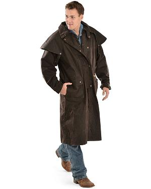 Outback Trading Co. Long Oilskin Duster