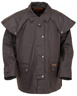 Outback Trading Co. Short Oilskin Duster