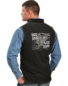 Cowboy Hardware Ride Hard, Live Hard Vest
