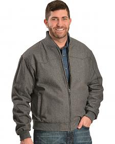 Red Ranch Charcoal Wool Western Yoke Jacket