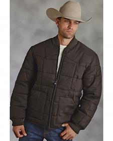 Roper Cotton Quilted Brown Jacket