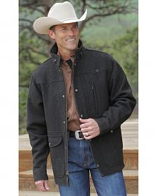 Miller Ranch Charcoal Melton Wool Riding Coat