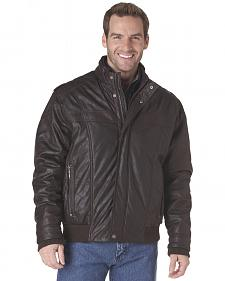 Cripple Creek Zip-Front PVC Jacket - Brown