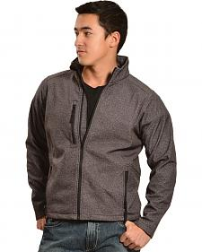 Red Ranch Men's Performance Black Skull Jacket