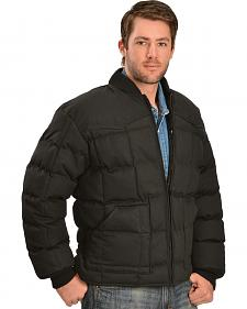 Rodeo Clothing Men's Quilted Down Jacket
