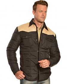 Red Ranch Men's Contrast Quilted Jacket
