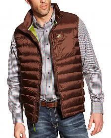 Ariat Men's Brown Ideal Down Vest