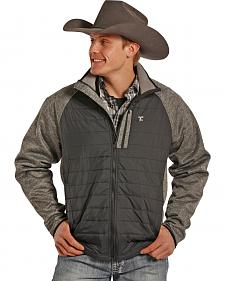 Tuf Cooper Performance Men's Two-Tone Quilted Puff Jacket