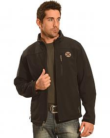 HOoey Men's Black Logo Jacket