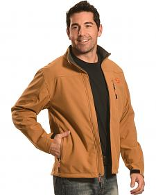 Hooey Men's Tan Softshell Jacket