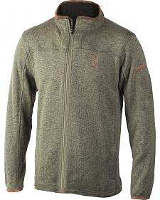 Browning Men's Clove Full-Zip Laredo Fleece Sweater