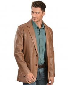 Scully Lamb Leather Blazer - Regular, Tall