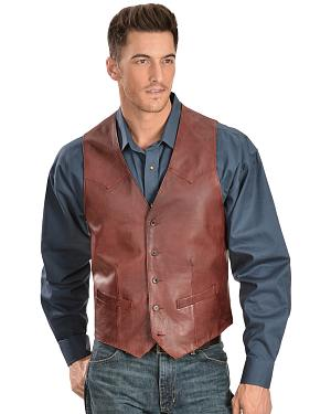 Scully Lamb Leather Vest