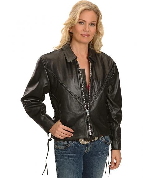 Interstate Leather Motorcycle Jacket